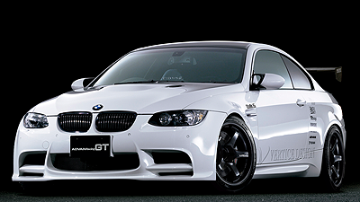 BMW M3 by T&amp;E<br>SEMI GLOSS BLACK