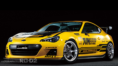 SUBARU BRZ tuned by JUN AUTO MECHANI MACHINING & RACING HYPER BLACK