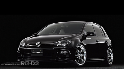 GOLF R(Ⅵ) tuned by TG KOMAOKA MACHINING & RACING HYPER BLACK