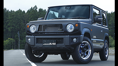 jimny tuned by HKS<br>MACHINING & RACING GUN METALLIC
