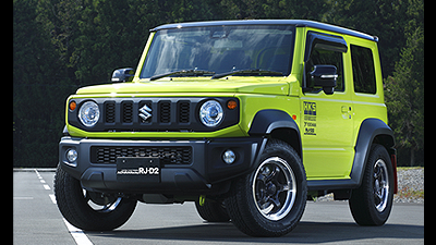 jimny SIERRA tuned by HKS<br>MACHINING & BLACK GUN METALLIC