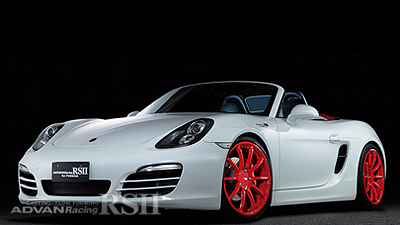PORSCHE BOXSTER-S tuned by TG KOMAOKA RACING RED