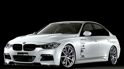 BMW 335i tuned by STUDIE RACING HYPER SILVER(20inch)