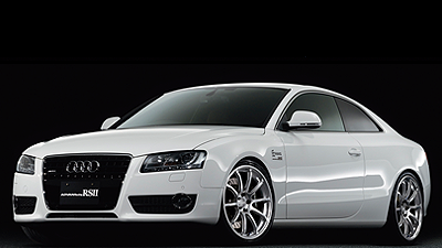 AUDI A5 tuned by ARQRAY RACING HYPER SILVER(20inch)