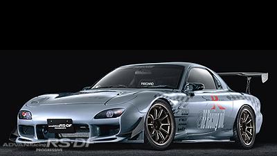 RX-7 tuned by Fujita Engineering
