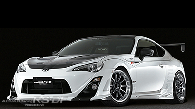 TOYOTA 86 tuned by Original RUNDUCE