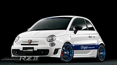 ABARTH 595 tuned by Orque