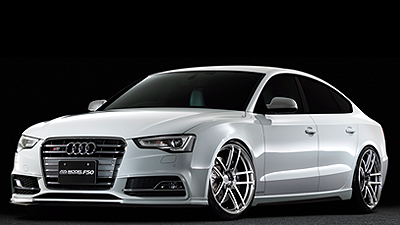 AUDI S5 tuned by Advance-step  PLATINUM BLACK COMBI