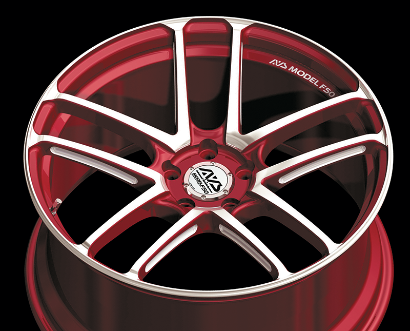 yokohama wheel brand avs model f50 for japanese cars