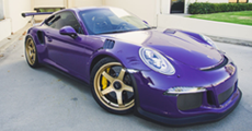 Wheel Matching Gallery Porsche GT3RS + ADVAN Racing GT for PORSCHE