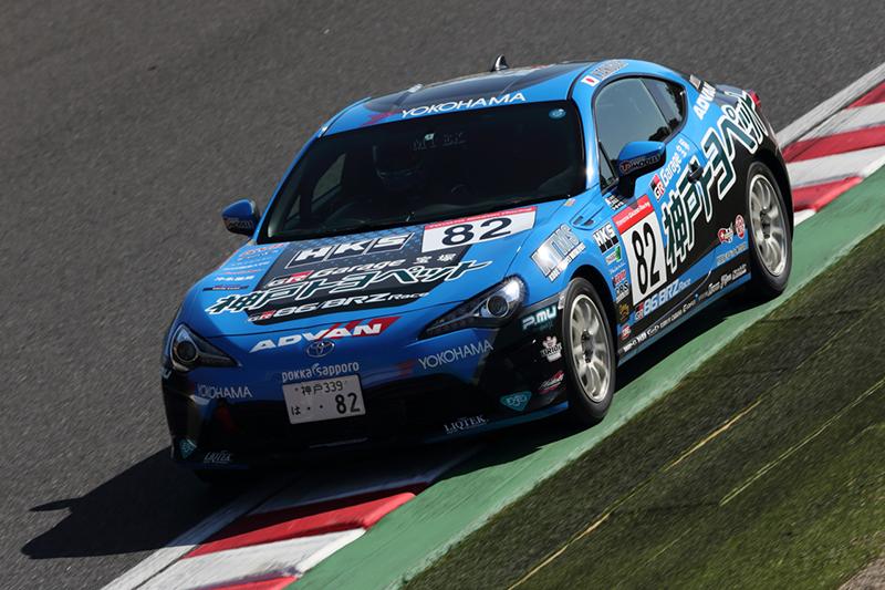 yokohama wheel news event gazoo racing 86 brz race 第8戦 鈴鹿